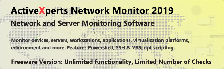 ActiveXperts Network Monitor 2019##Admin